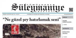 Süleymaniye Gazetesi'nin 6. Sayısı Çıktı
